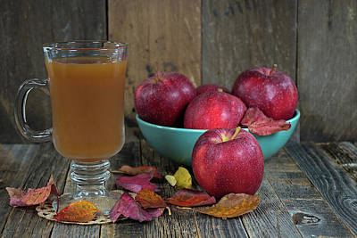 Pop Art Rights Managed Images - Autumn Cider Royalty-Free Image by Maria Dryfhout