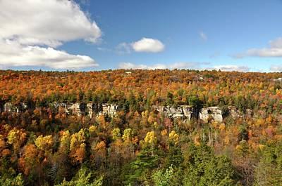 Photograph - Autumn Cliffs by Cornelia DeDona