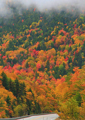 Photograph - Autumn Clouds On Crawford Notch Road by Dan Sproul