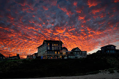 Photograph - Autumn Coastal Sky by Bill Posner