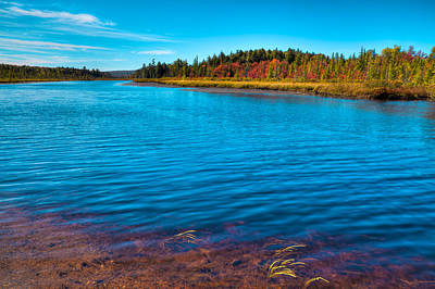 Photograph - Autumn Color At Raquette Lake by David Patterson