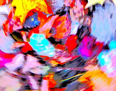 Photograph - Autumn Color Blurs 196 by George Ramos