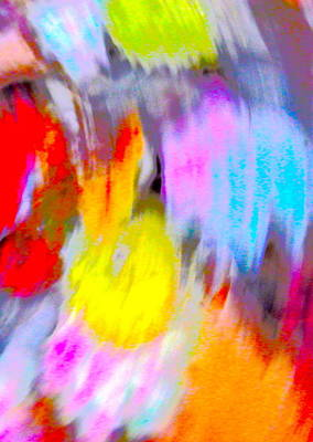 Photograph - Autumn Color Blurs 197 by George Ramos