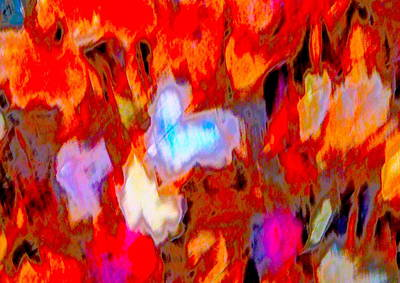 Photograph - Autumn Color Blurs 211 by George Ramos
