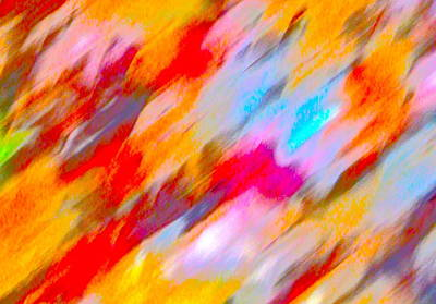 Photograph - Autumn Color Blurs 216 by George Ramos