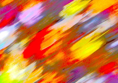 Photograph - Autumn Color Blurs 220 by George Ramos