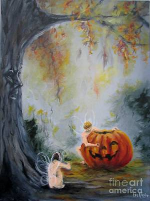 Painting - Autumn Color Celebration by Patricia Kanzler