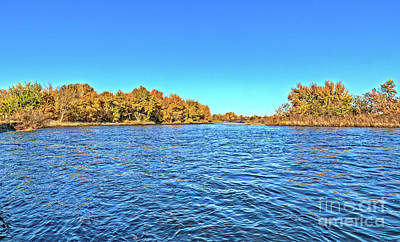Photograph - Autumn Color On The Payette by Robert Bales