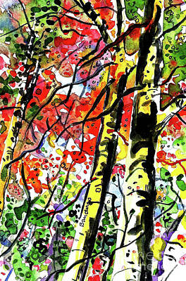 Painting - Autumn Color by Terry Banderas