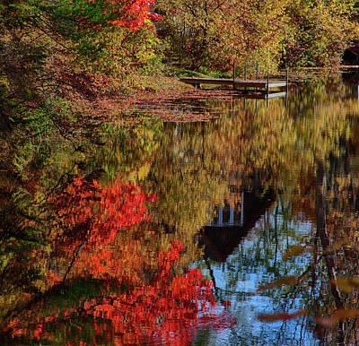 Image Photograph - Autumn Colors Arrive by Jeff Foliage