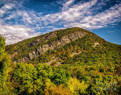 Photograph - Autumn Colors At Mt Tammany by Nick Zelinsky