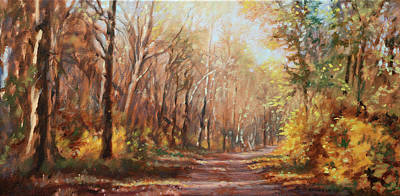 Painting - Autumn Colors by Bonnie Mason
