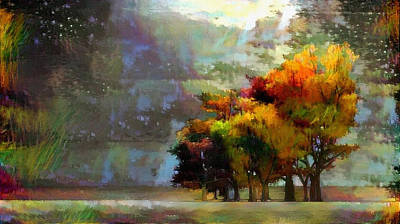 Digital Art - Autumn Colors by Bruce Rolff