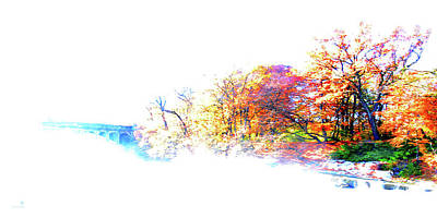 Autumn Colors Art Print by Hannes Cmarits