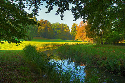 Photograph - Autumn Colors In A Park by Sun Travels