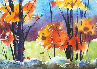 Painting - Autumn Colors by Len Stomski