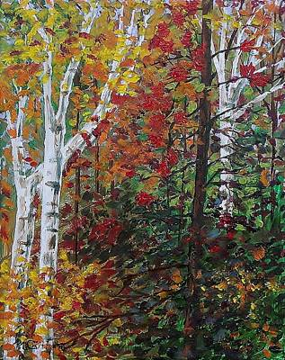 Painting - Autumn Colors by Mike Caitham