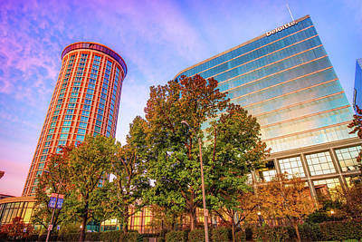 Photograph - Autumn Colors - Millennium Hotel And St. Louis Buildings by Gregory Ballos