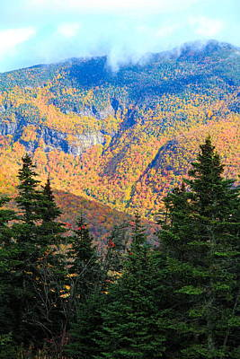 Photograph - Autumn Colors On Mount Mansfield by Dan Sproul
