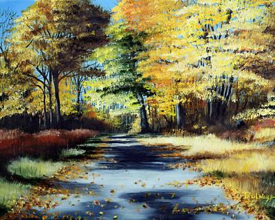 Autumn Colors Art Print by Paul Walsh