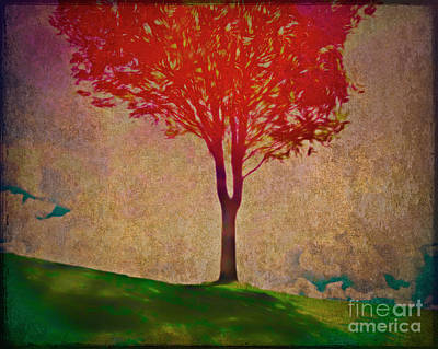 Digital Art - Autumn Colours by Edmund Nagele