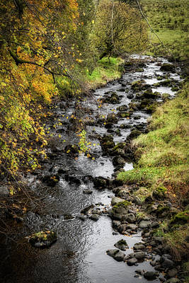 Photograph - Autumn Colours In Scotland by Jeremy Lavender Photography