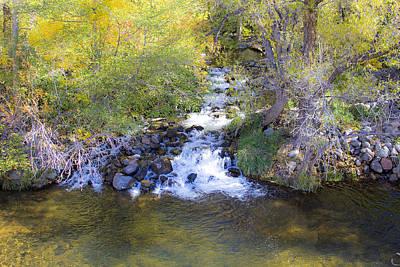Oak Creek Photograph - Autumn Comes To Oak Creek by Gary Kaylor