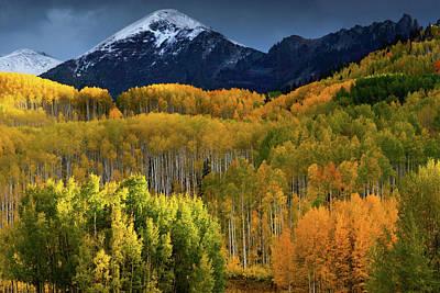 Photograph - Autumn Comes To The Ruby Range by John De Bord
