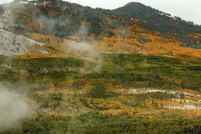 Colorado Photograph - Autumn Creation by Bill Sherrell
