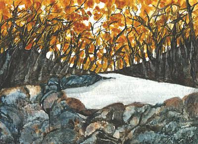 Painting - Autumn Creek II by Garima Srivastava