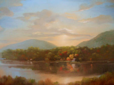 Autumn Creeping In Art Print by Kevin Palfreyman