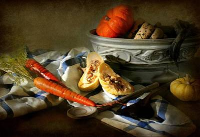 Autumn Crops Art Print by Diana Angstadt