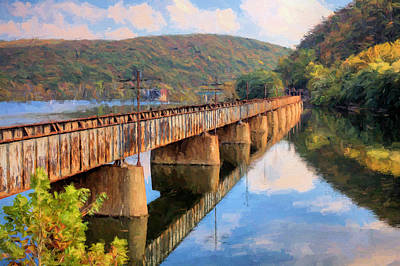 Photograph - Autumn Crossings by JC Findley