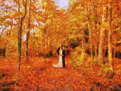 Painting - Autumn Dance by Jai Johnson