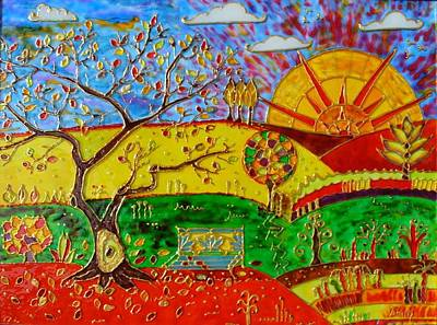 Pictur Painting - Autumn  by Danuta Duminica