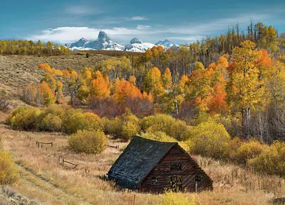 Photograph - Autumn Day by Leland D Howard