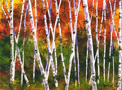 Autumn Daze Original by Marsha Elliott