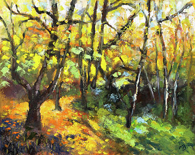 Painting - Autumn Delight by Mike Bergen