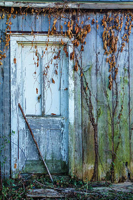Autumn Door Art Print