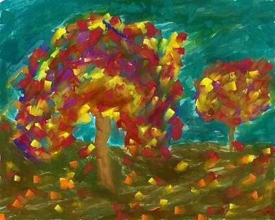 Autumn Dream Art Print by Dan Sproul