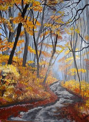 Painting - Autumn Dream by Pamela Anderson