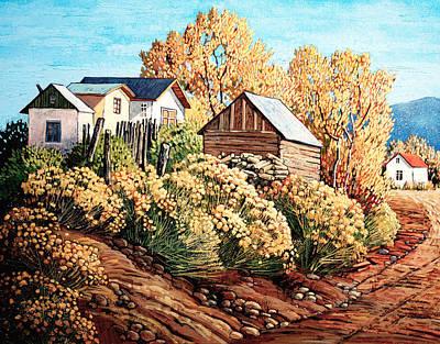 San Juan Painting - Autumn Dreaming by Donna Clair