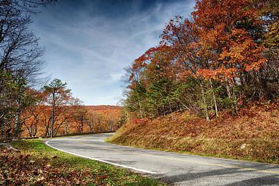 Photograph - Autumn Dreams Around The Bend by Lara Ellis