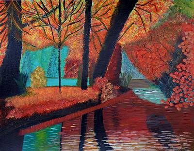 Painting - Autumn Dreams by Magdalena Frohnsdorff