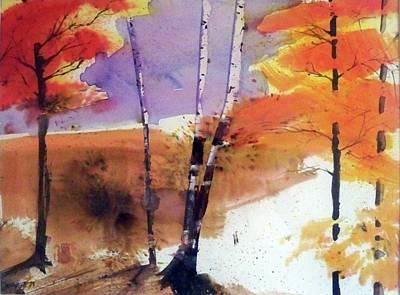 Autumn Art Print by Ed Heaton