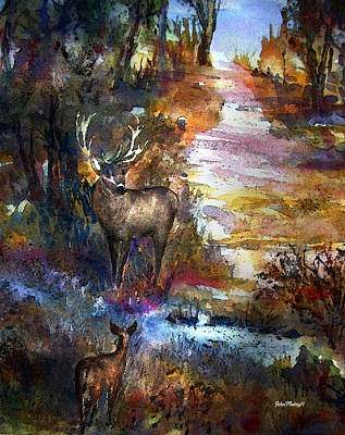 Painting - Autumn Encounter by John Mabry