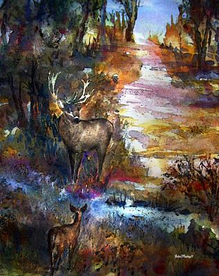 Autumn Encounter Art Print