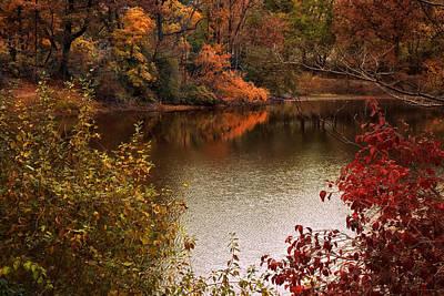 Autumn Ending Art Print by Jessica Jenney