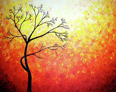 Autumn Evening Art Print by Daniel Lafferty