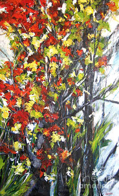 Painting - Autumn  Expression by Debora Cardaci